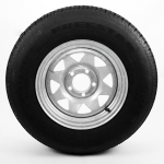 205/75R14 Radial Trailer Tire 14″ Galvanized Spoke Rim