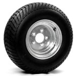 205/65-10 (20.5X8.00-10) Bias Trailer Tire 10″ Galvanized Rim
