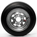 4.80 x 12 Bias Trailer Tire 12″ Galvanized Spoke Rim