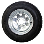5.30 x 12 Bias Trailer Tire 12″ Galvanized Spoke Rim
