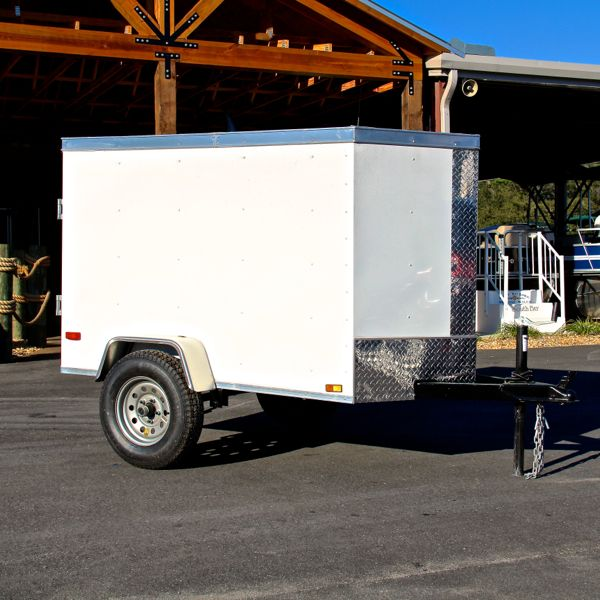 4x6 Enclosed Trailer >> 4x6 Single Axle Enclosed Trailer By Diamond Cargo