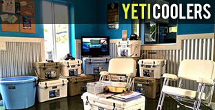 Yeti Coolers and Accesories For Sale