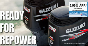 Suzuki Re-Power As Low As 5.99% – Financing Available!