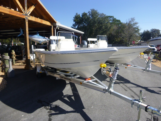 2017 Bulls Bay 2000 Center Console with Yamaha F115 hp 4 stroke and a Aluminum Trailer!