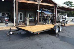 Triple Crown 7×18′ Equipment Trailer